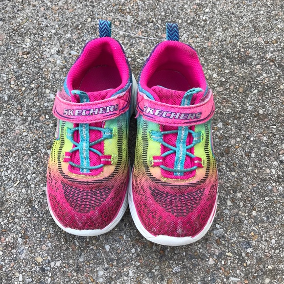 Skechers Shoes | Toddler Girls Size 9